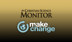 Make Change / Christian Science Monitor